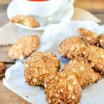 This is an easy and healthy version of the classic anzac biscuit with no refined sugars and dairy free.