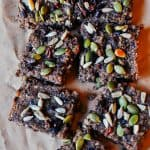 This healthy coconut and quinoa slice is quick and easy to make and contains no refined sugars