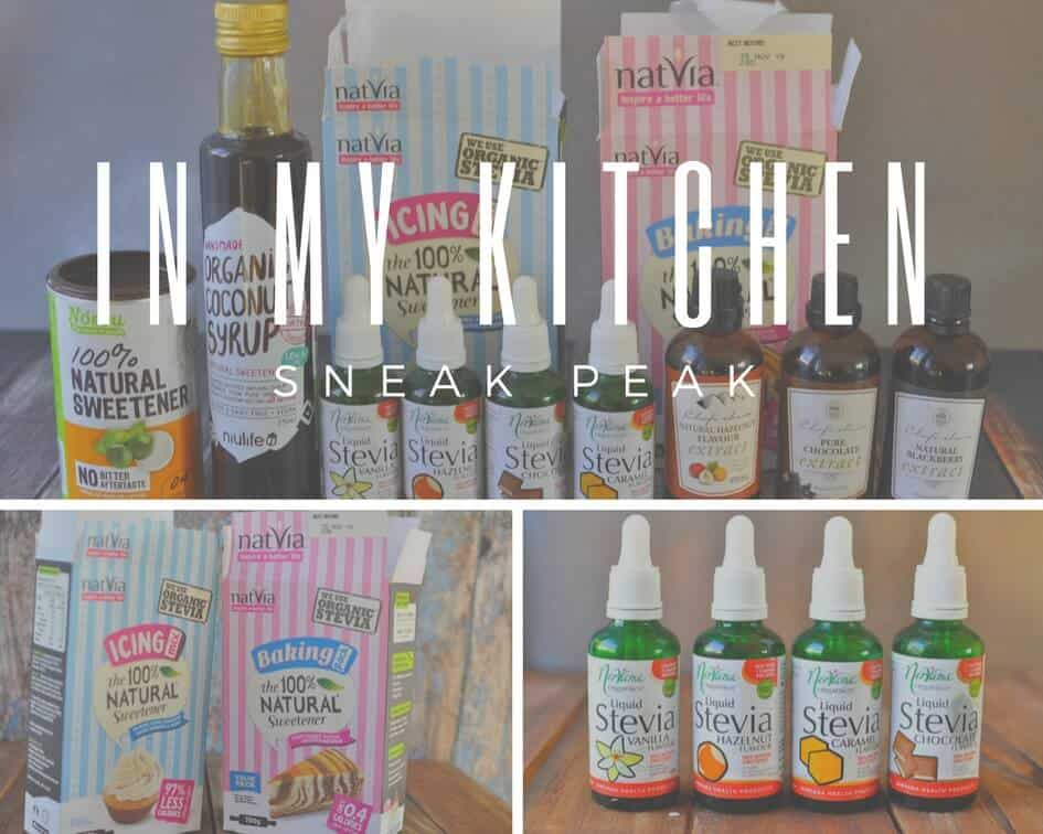 Natural sweeteners and flavourings I use in my recipes in my healthy food kitchen.