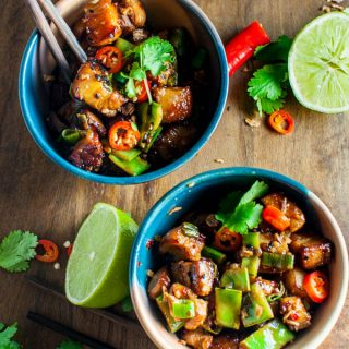 Hot and Sour Pork with Coconut Rice