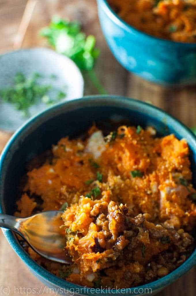 Easy, healthy and quick this Sweet Potato Shepherds Pie is full of flavour and on the table in 30 minutes