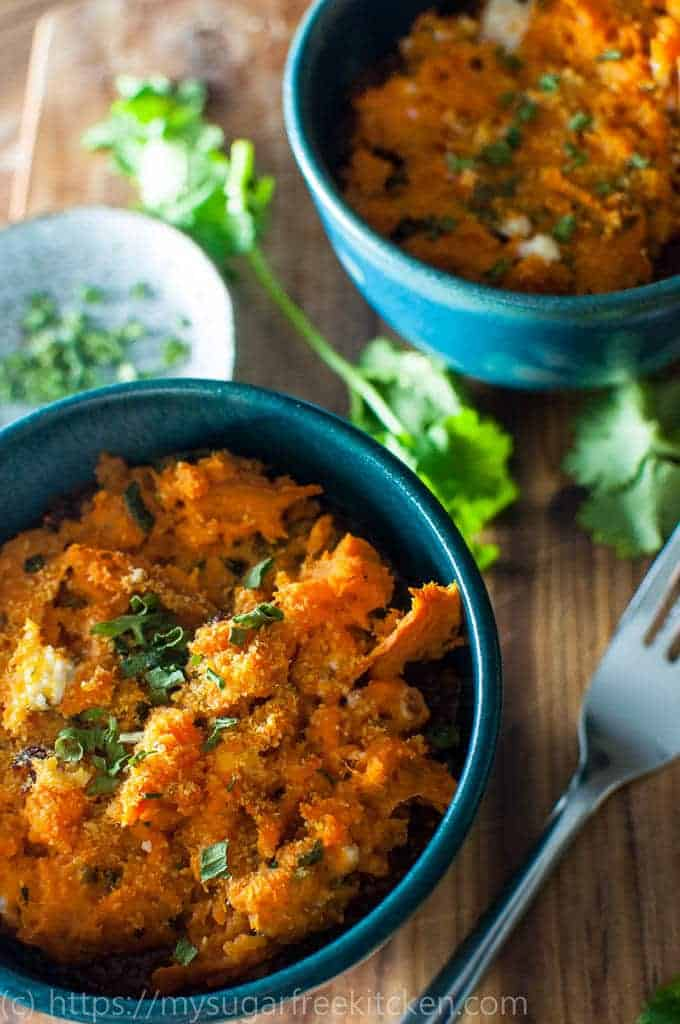 This Sweet Potato Shepherds Pie recipe is easy to make and is ready in 15 minutes.