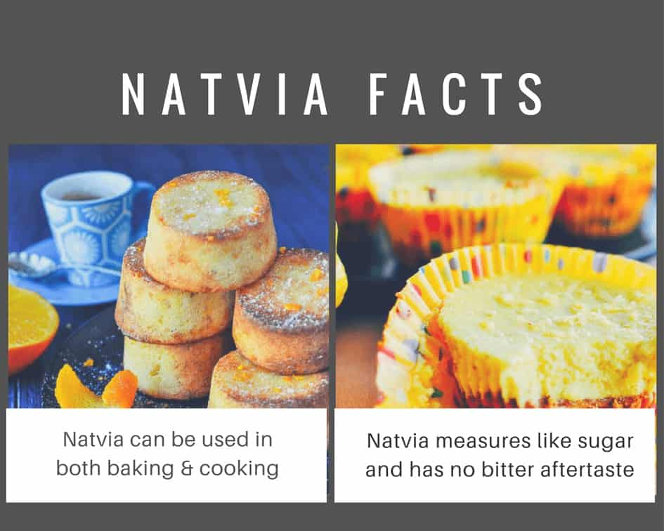 Natvia stevia sweetener can be used in both cooking and baking just like sugar.