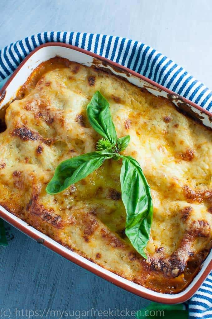 Healthy, warm and comforting lasagne without ricotta is the perfect Sunday night dinner