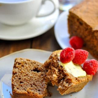 Sugar Free Gingerbread Loaf