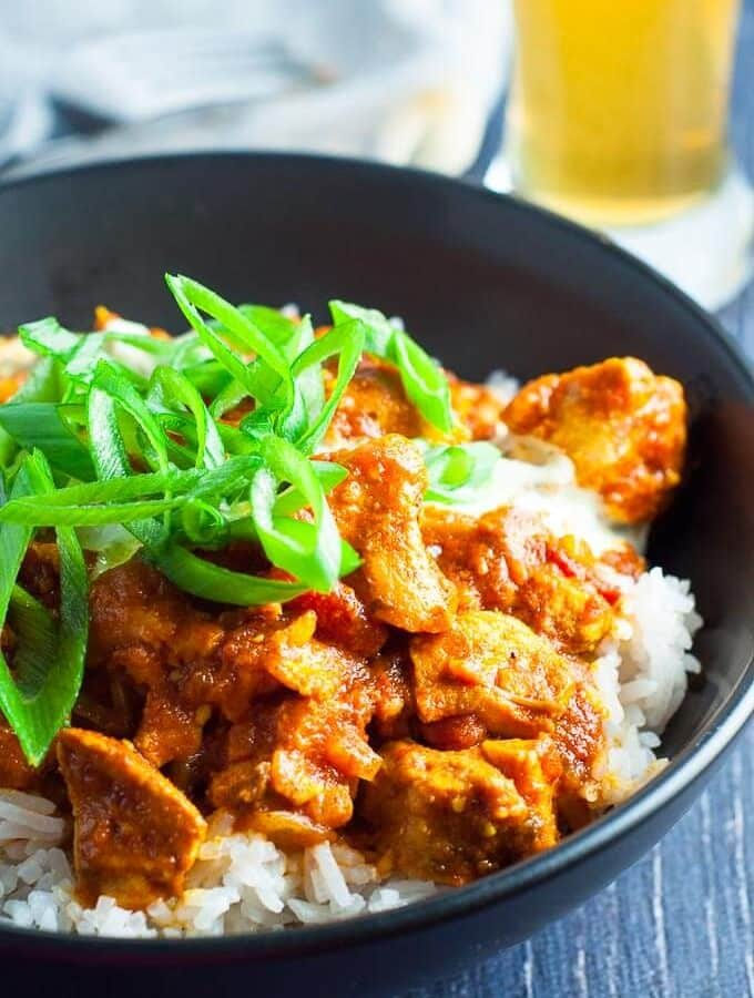 Chicken Masala Slow Cooker With Paste