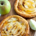 Easy sugar free apricot glazed apple tart for dessert