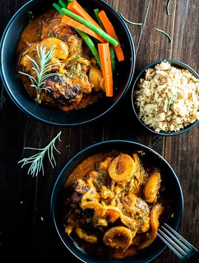 Apricot Chicken Curry Casserole