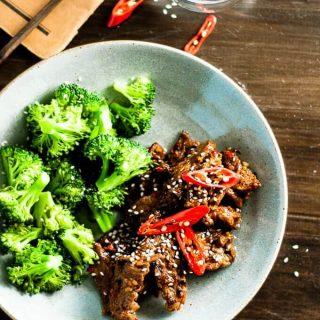 Sticky Chilli Beef and Broccoli