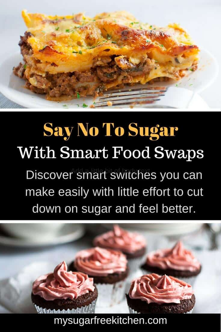 If you're often confused by sugar, you aren't the only one but knowing when to say no to sugar doesn't have to be as difficult as it seems if you know a little inside information. Discover smart switches you can make easily with little effort to cut down on sugar and feel better.