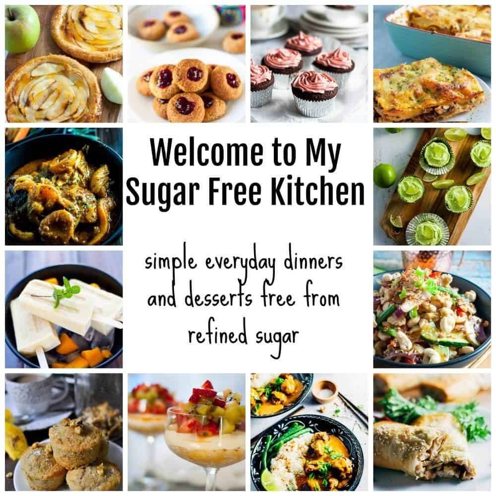My sugar free kitchen start here collage