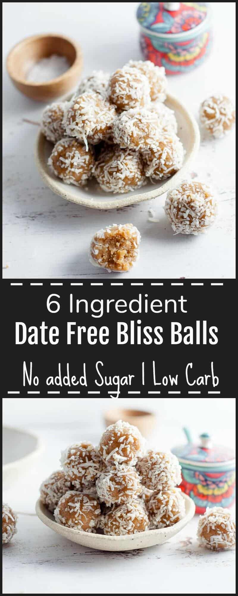These Date Free Bliss Balls are the perfect easy and healthy snack after the delicious indulgence of Christmas Food. Not too sweet, but still rich with a hint of salty caramel.