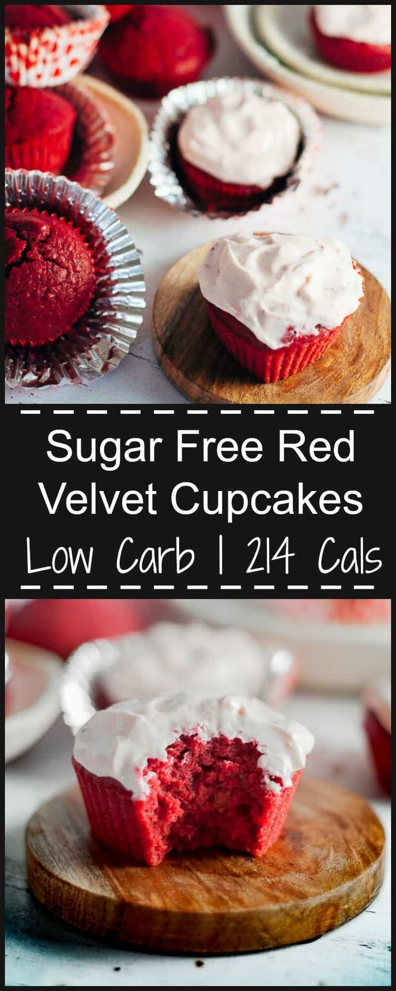 Subtly sweet, deliciously beetroot flavoured, low carb, refined sugar free and utterly mooreish.  These sugar free red velvet cupcakes are the only recipe you'll ever need and will be you go to cake for special occasions.  Easy to make, and done in 30 minutes.  Freezes well.